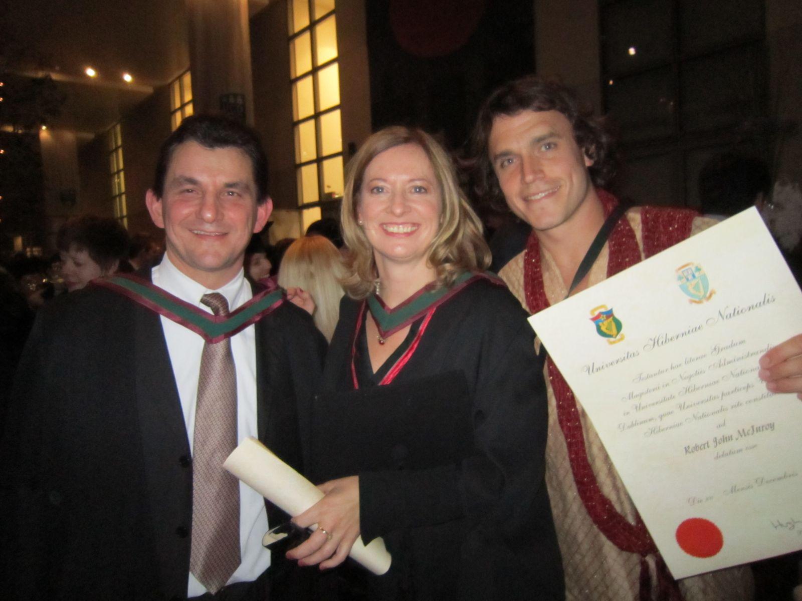 Smurfit MBA Conferring December 2010