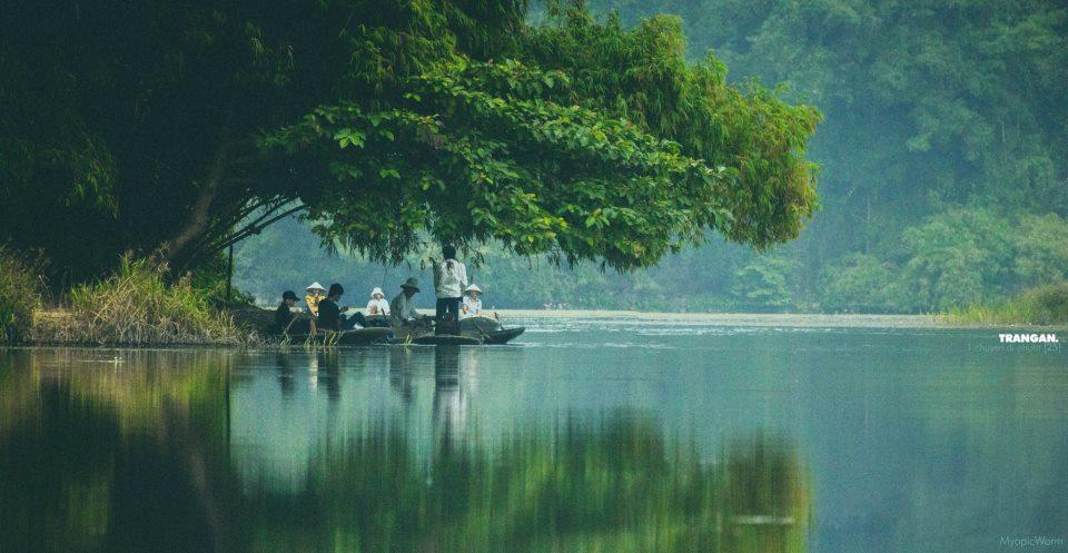 Trang An, Ninh Binh, Vietnam (photo taken from my friend's Facebook)